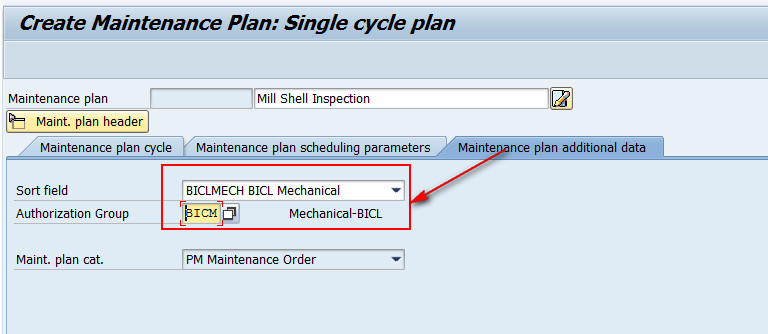 how to create maintenance plan in sap pm