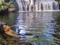 Byuur!! Serunya Mandi di Blue Lagoon Pemandian Tirta Budi Jogja