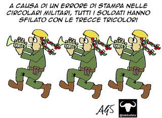 Festa della repubblica, 2 giugno, frecce tricolori, satira vignetta