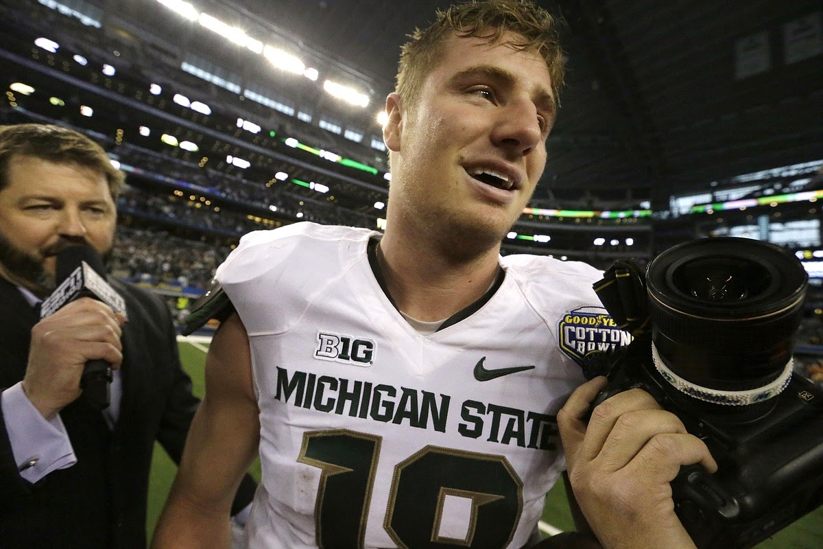 Connor Cook won't be satisfied with anything less than a Big Ten title in his senior season.