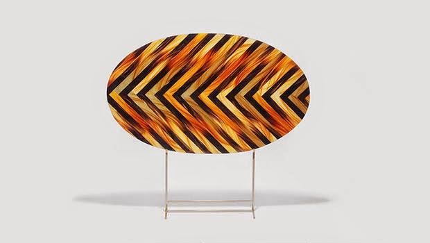 Meja ini Terbuat dari Rambut Manusia
