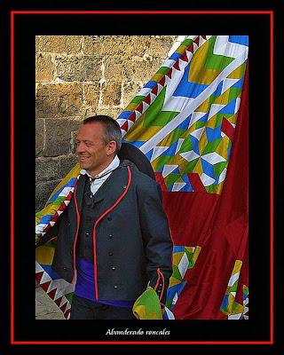 El Roncal, porta bandeira roncalés