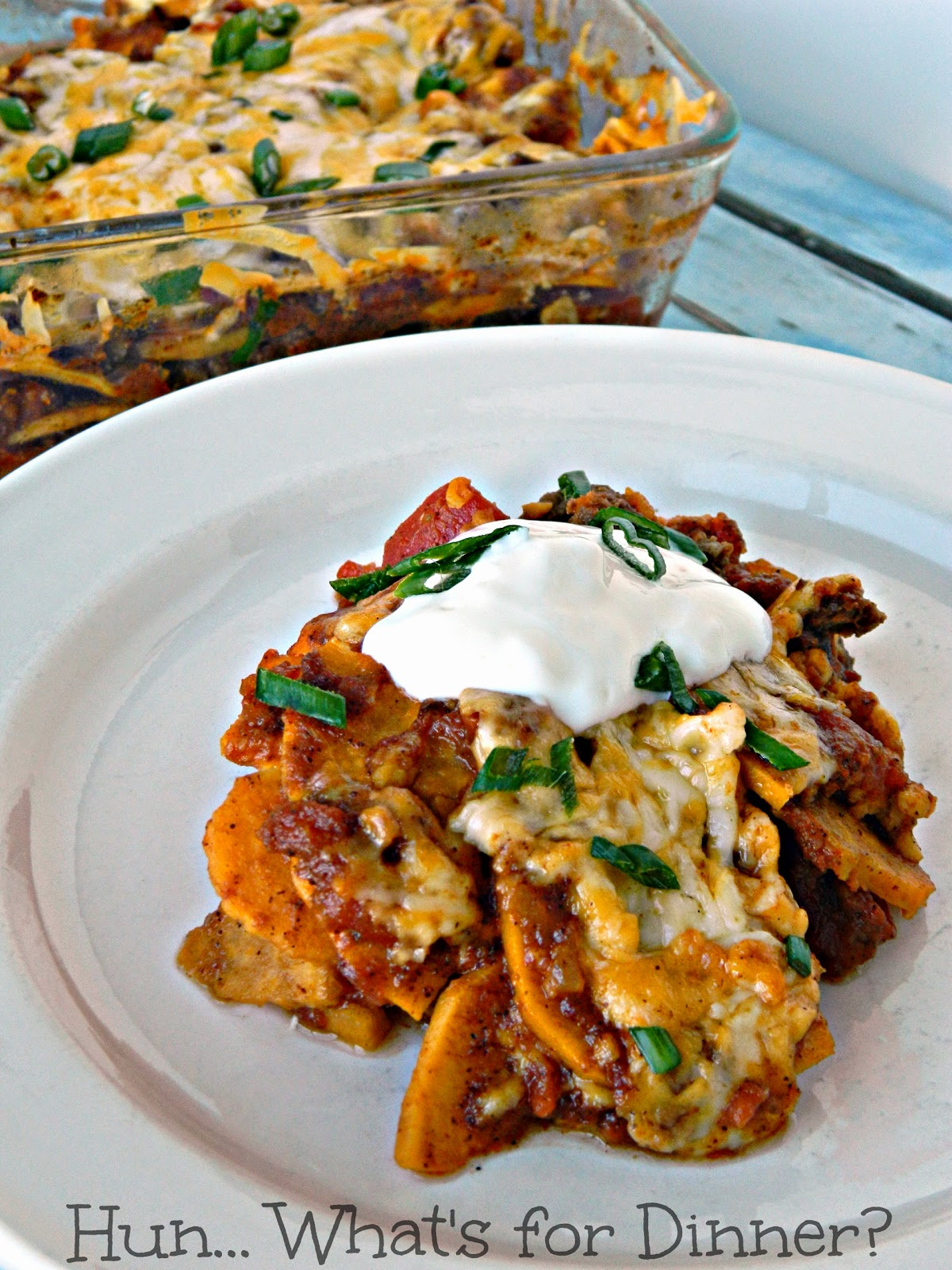 Mexican Sweet Potato Casserole