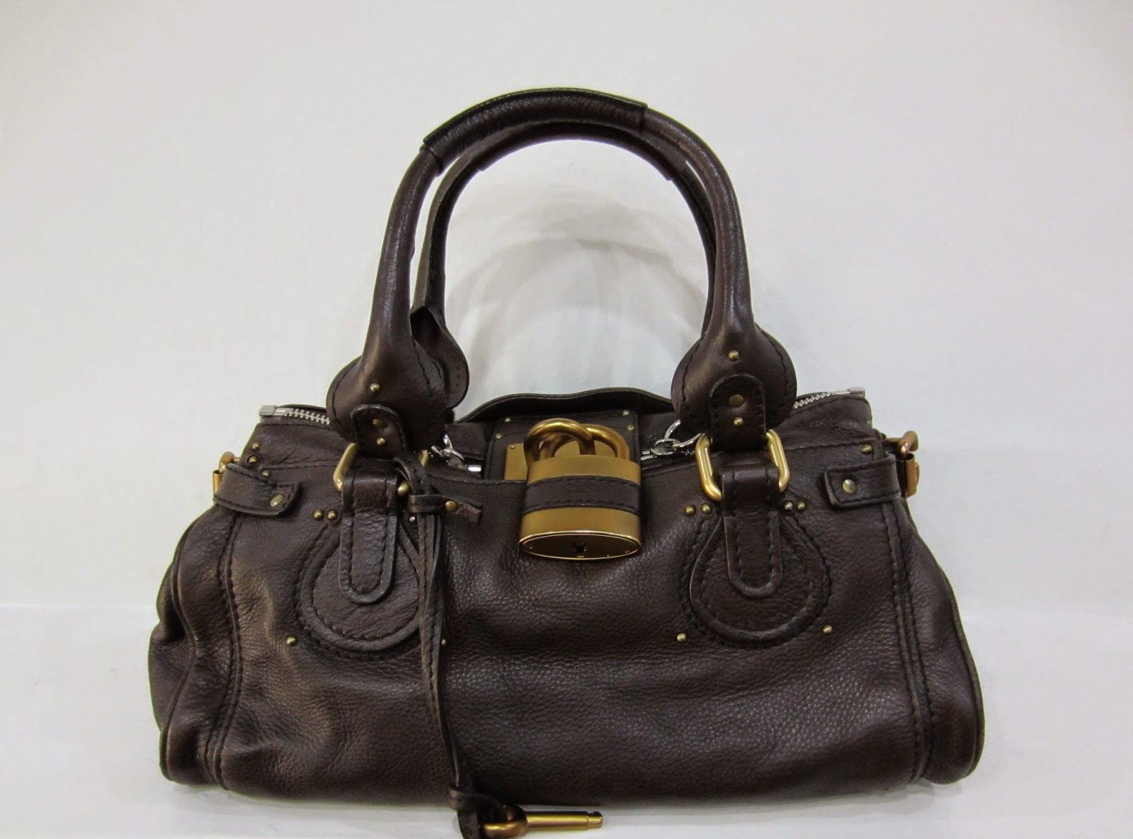 Chloe Brown Leather Paddington Bag
