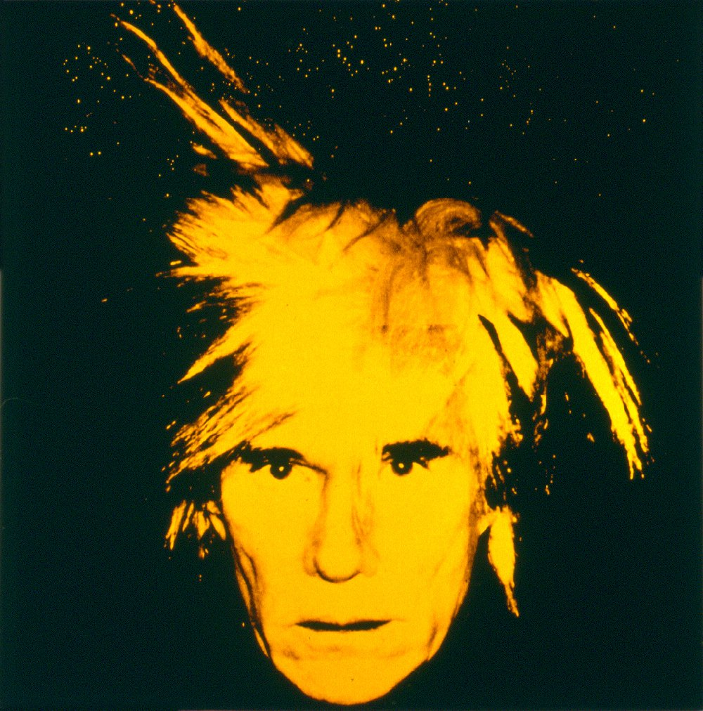 Self portrait 1986 by andy warhol