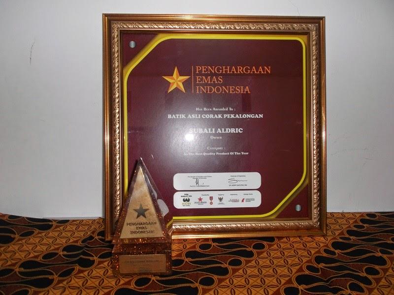 Penghargaan Emas Indonesia Utk BACP