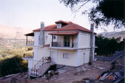 New two-story house 2003