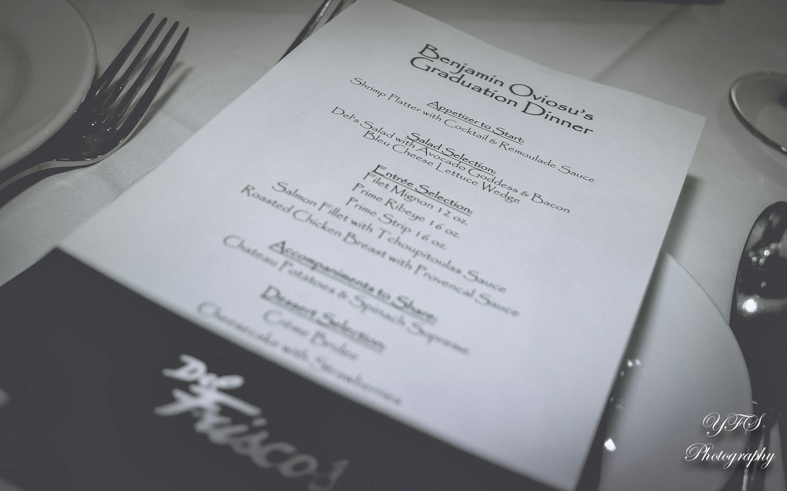 Event || Benjamin\'s Graduation Dinner. | YFS Photography... ❤