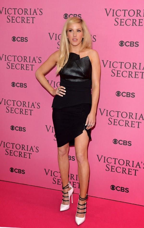 Ellie Goulding la petrecera Victoria Secret