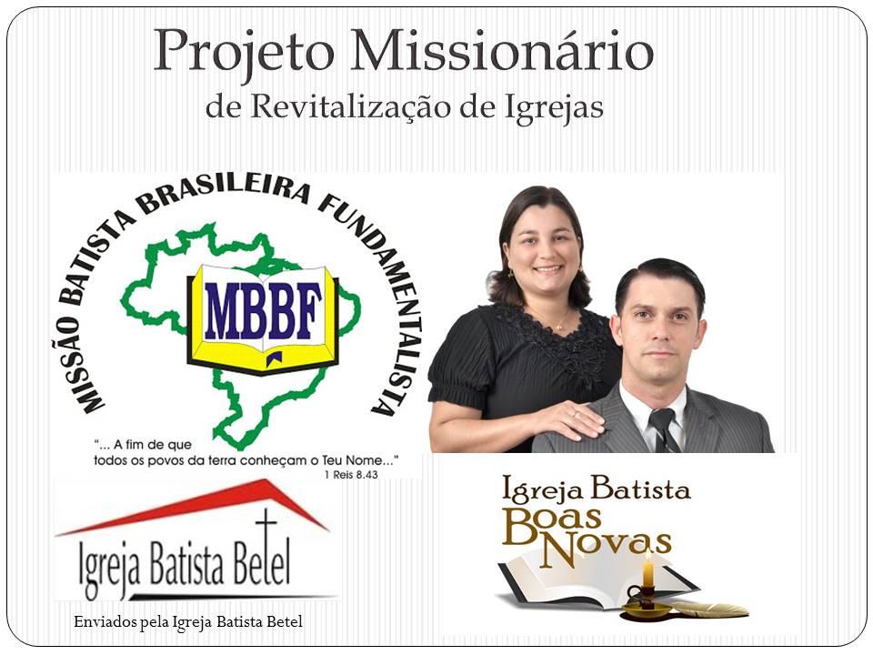 Ministério Pr. Mário Botão e Juliana