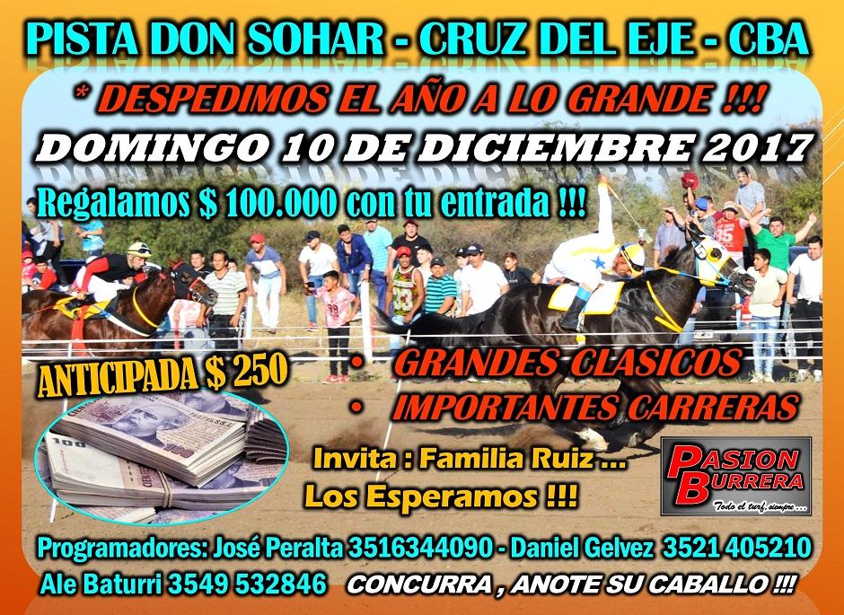 DON SOHAR - DOMINGO 10 DICIEMBRE 2017
