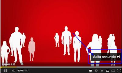 saltare pubblicità youtube