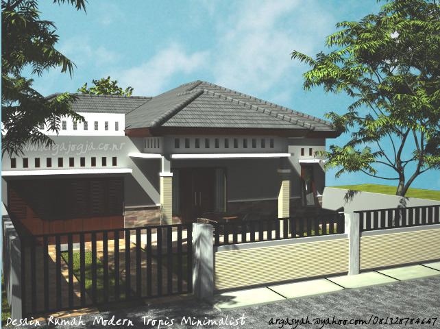 dream home modern tropis minimalist