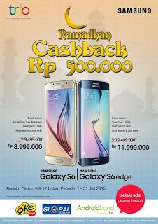 Samsung Ramadhan Cashback Rp 500.000 Hingga 31 Juli 2015