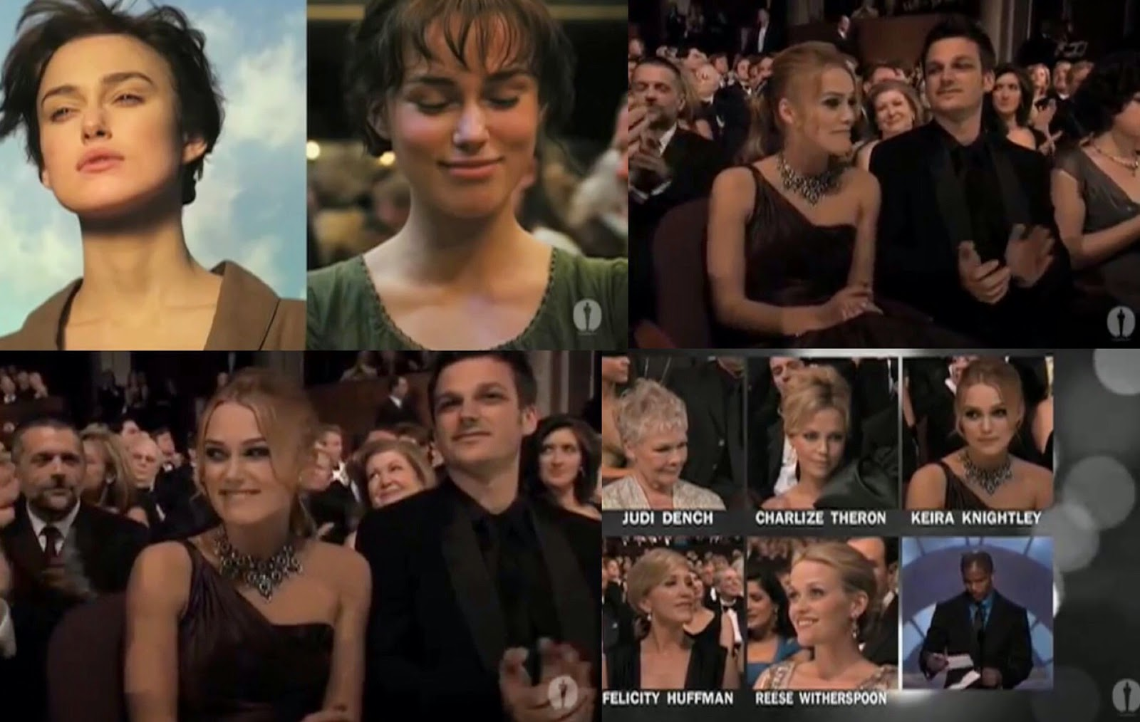 Watch Clips Of Keiras Brief Nomination Parts During The 78th Academy Awards 2006