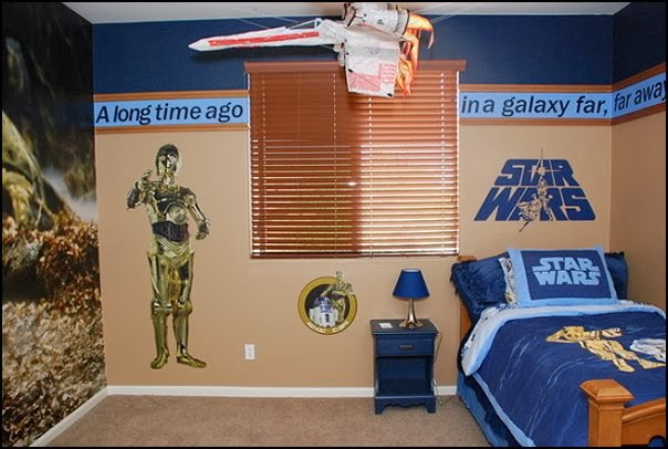 Star Wars Bedroom Ideas : ... bedrooms - star wars theme bedrooms - robots rockets theme decorating