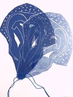 Linogravure de Jo Heselmans