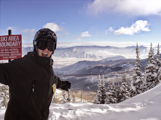 Snowboarding - 101 Things to do in Utah this Holiday Season