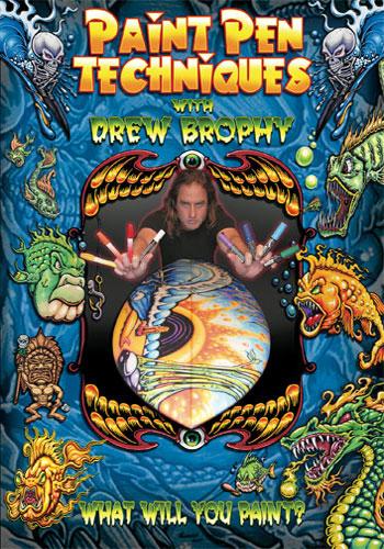 Paint Pen Techniques with Drew Brophy