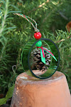 Single Ring Pinecone Ornament