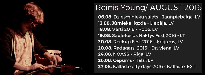 Reinis Young - Jaunais