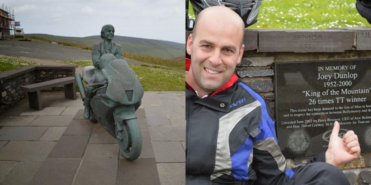 Memoria de Joey Dunlop