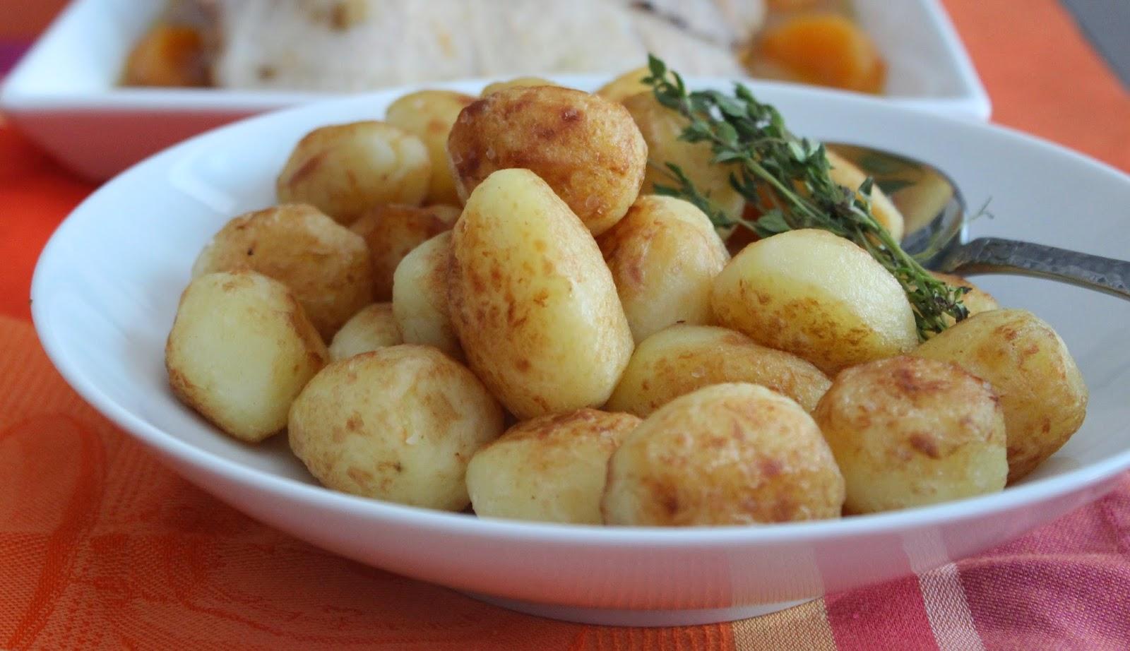 Las recetas de marichu y las mias patatas cocidas fritas - Guarniciones para carne en salsa ...