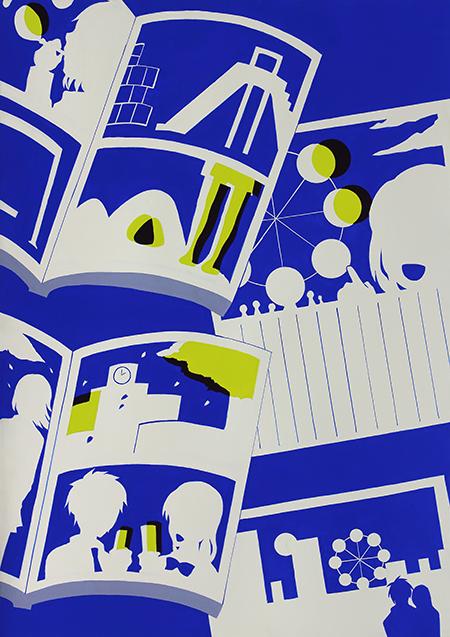 多摩美術大学情報デザイン学科合格者入試再現作品