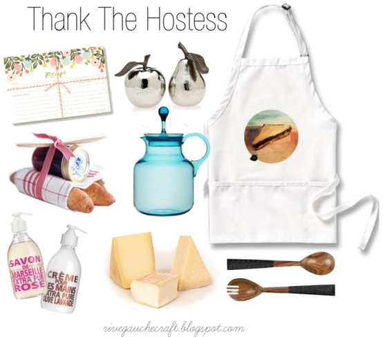 thank your thanksgiving hostess with one of these functional and pretty gifts