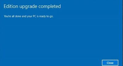 Cara upgrade Windows 10 Home ke Pro, Pro ke Enterprise