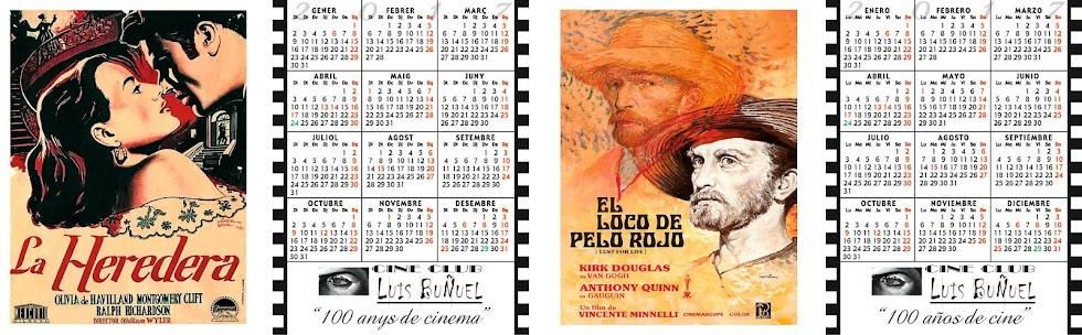 Calendarios Cine Club Luis Buñuel para el Año 2017