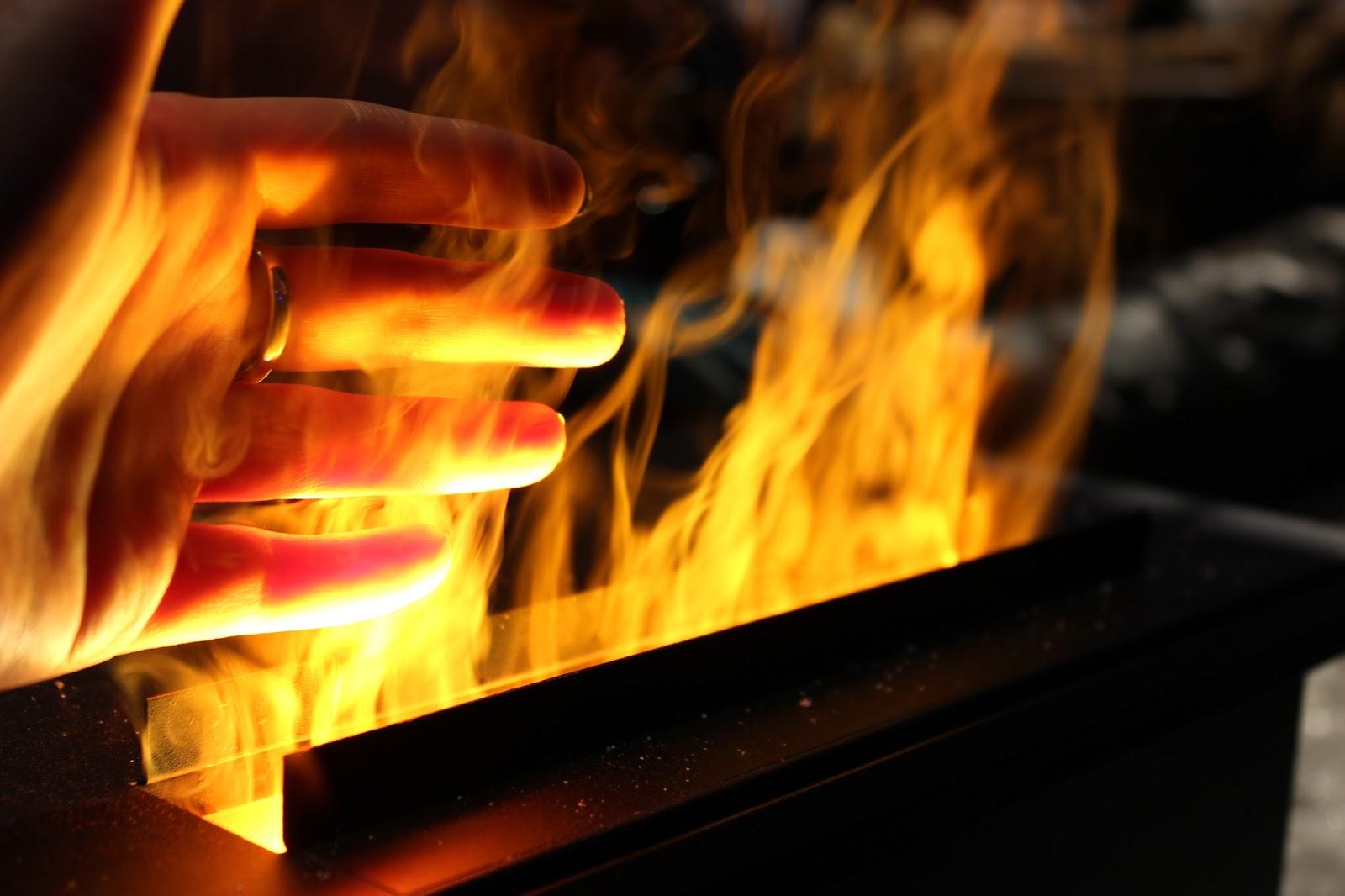 Harry Potter studio tour london fake fire