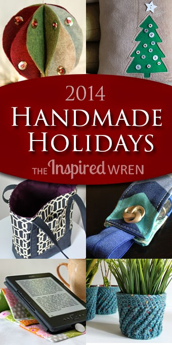 Handmade Gift Tutorials from The Inspired Wren #christmas #gifts #stockingstuffer