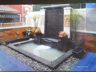 jasa pembuatan kolam minimalis - jual tanaman hias