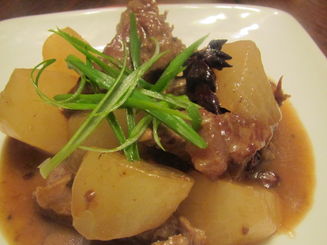 Braised Beef with Daikon