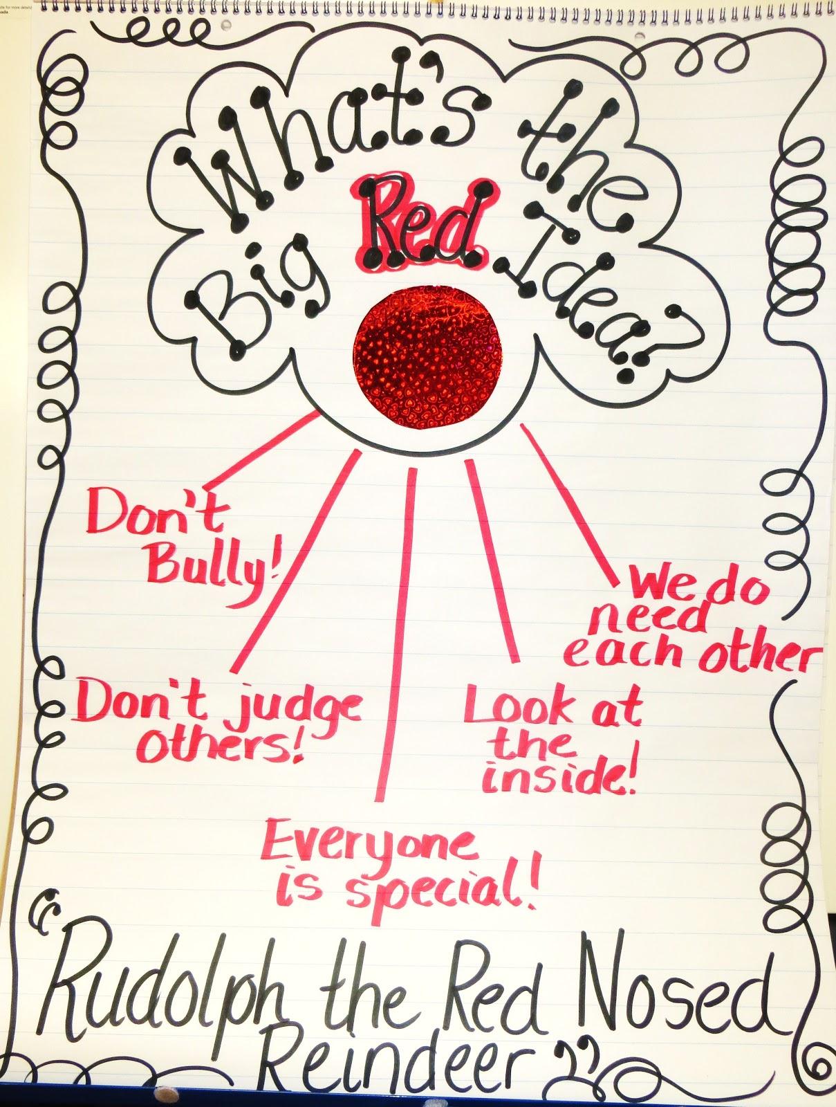 First Grade Wow Rudolphs Message