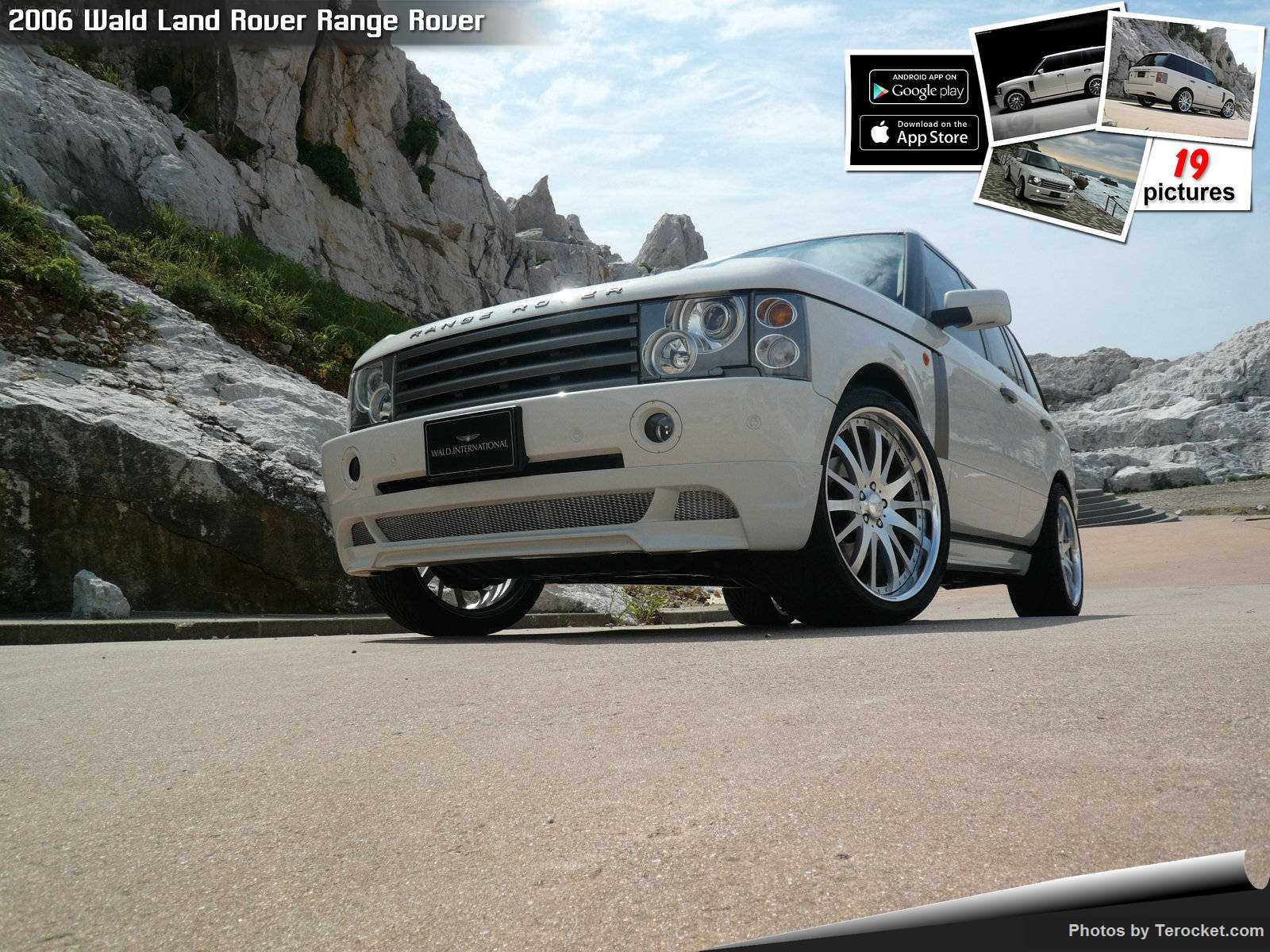 Hình ảnh xe độ Wald Land Rover Range Rover 2006 & nội ngoại thất