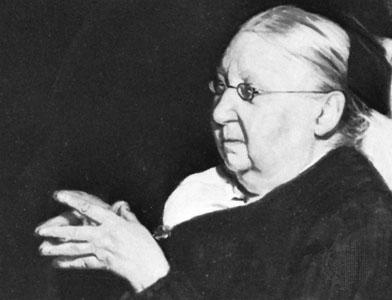 Gertrude Jekyll 1843-1932.