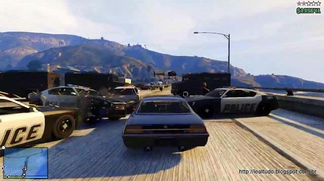 Grand Theft Auto Online Crash Burnout Police Street - Batida Policial