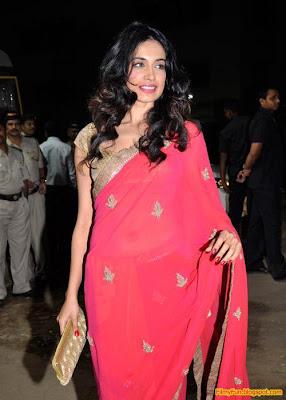 Sarah Jane Diaz arrives for the Filmfare Awards at Yash Raj Studio Mumbai_FilmyFun.blogspot.com