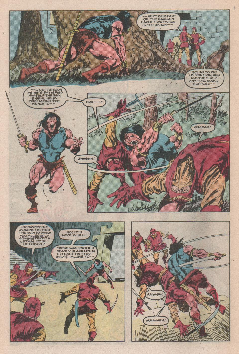Conan the Barbarian (1970) Issue #171 #183 - English 17