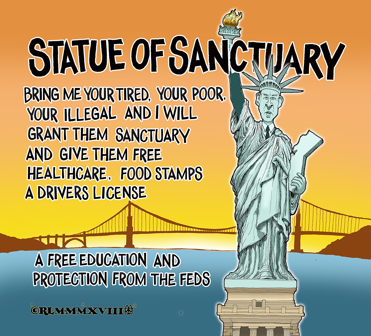 THE STATUE OF SANCTUARY