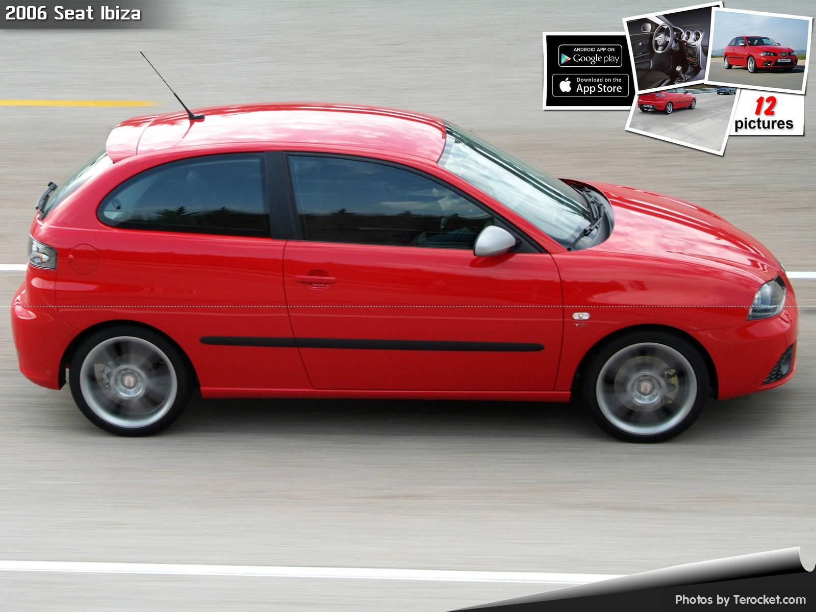 Hình ảnh xe ô tô Seat Ibiza 2006 & nội ngoại thất