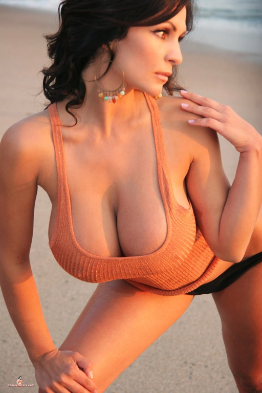 Denise milani first hardcore