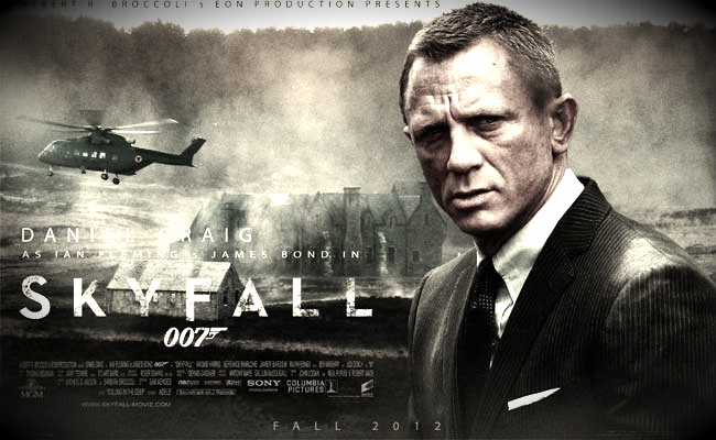 SKYFALL Wallpaper
