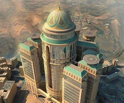 بناء أكبر فندق بالعالم في مكة المكرمة