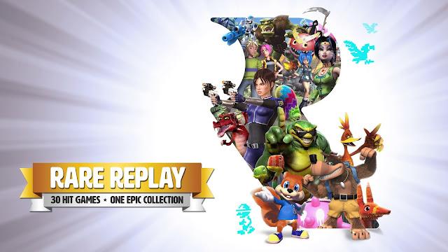 Rare celebra sus 30 años de vida con un recopilatorio de treinta juegos para Xbox One