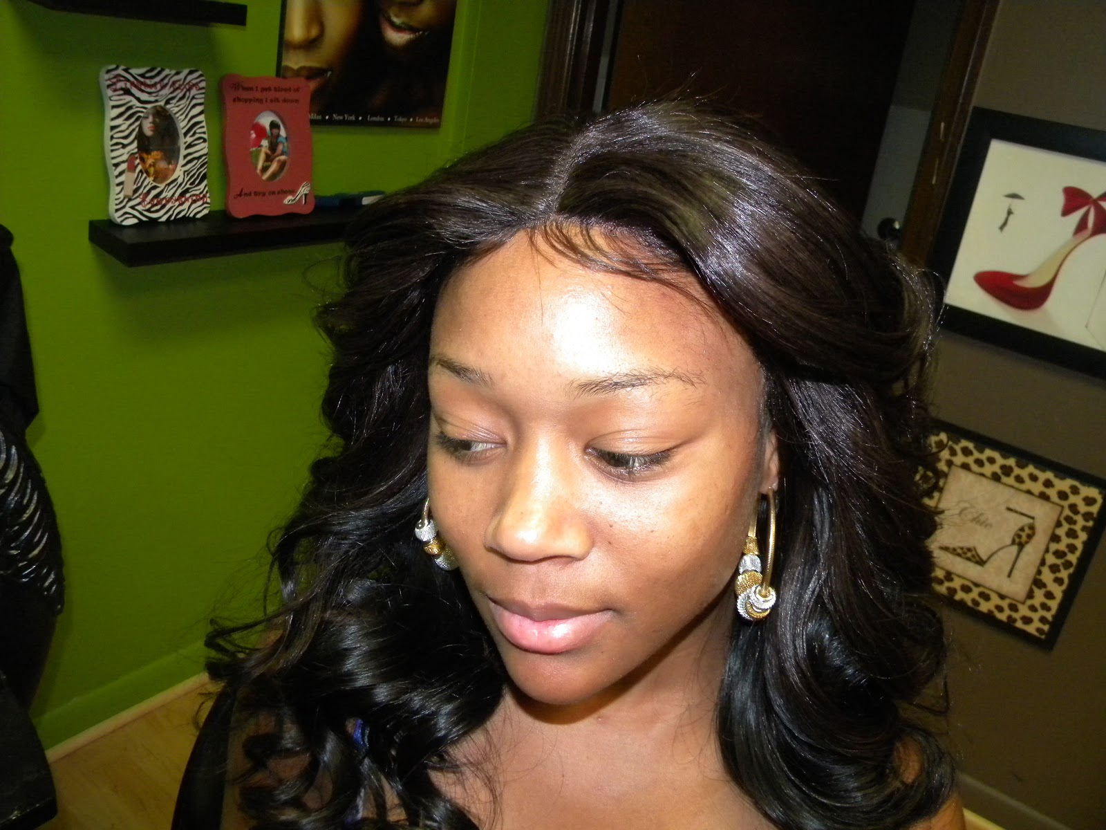 Versatile Sew In With Natural Hair