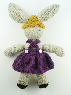 knit bunny sundress straw hat sandals