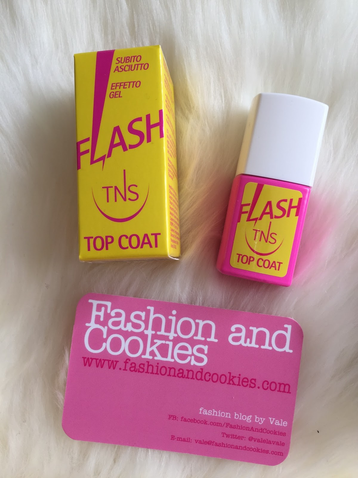TNS cosmetics flash top coat on Fashion and Cookies beauty blog, beauty blogger
